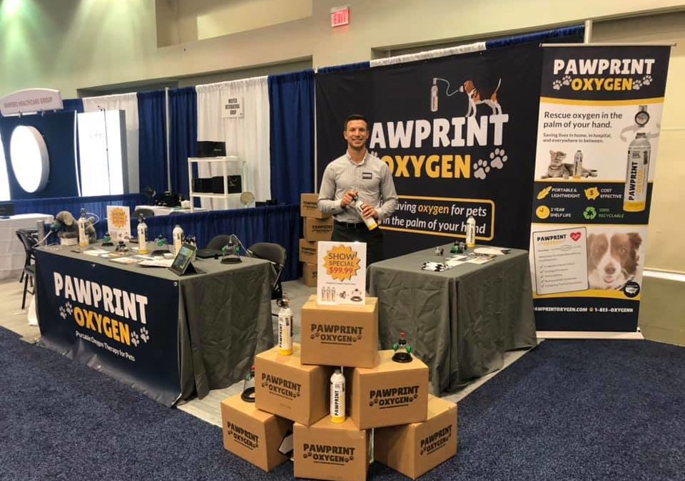 Pawprint Oxygen was live at the American Veterinary Medical Association (AVMA) Convention 2019 in Washington, DC!