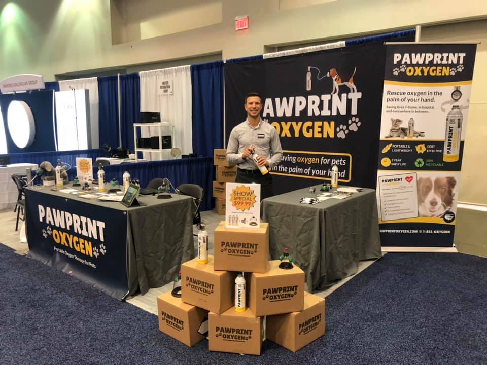 Pawprint Oxygen at AVMA Convention in August