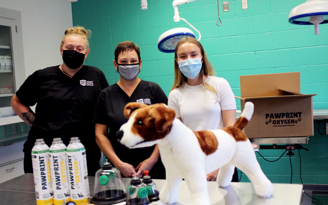 Pawprint Oxygen Visits the Humane Society of Pittsburgh