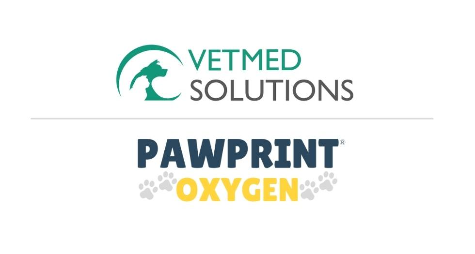 Pawprint Oxygen Announces Collaboration with Canadian Distributor VetMed Solutions